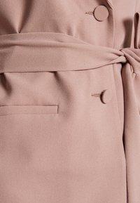 New Look - CREPE TIE BELT - Blazer - pale pink - 2