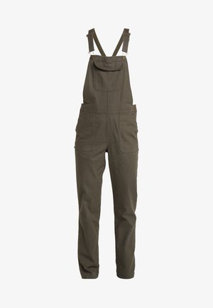 MOESER OVERALL - Trousers - new taupe green