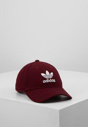BASE CLASS UNISEX - Caps - maroon/white