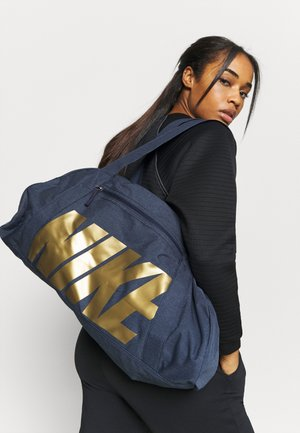 GYM CLUB - Sports bag - obsidian/metallic gold