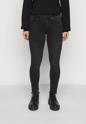 VMHANNA RAW - Jeans Skinny Fit - black