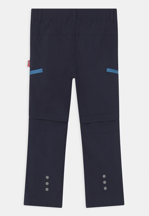 KJERAG ZIP OFF  2-IN-1 UNISEX - Outdoor trousers - navy/medium blue