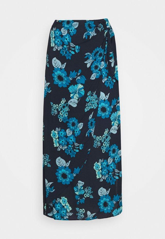 SUNRAY SARONG SKIRT - A-linjainen hame - blue