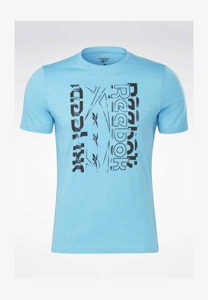 VECTOR GRAPHIC SERIES ELEMENTS - Camiseta estampada - turquoise