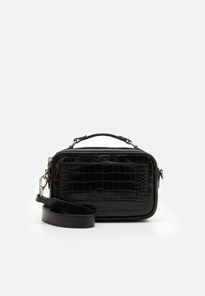 SOLID MARY BAG - Across body bag - black