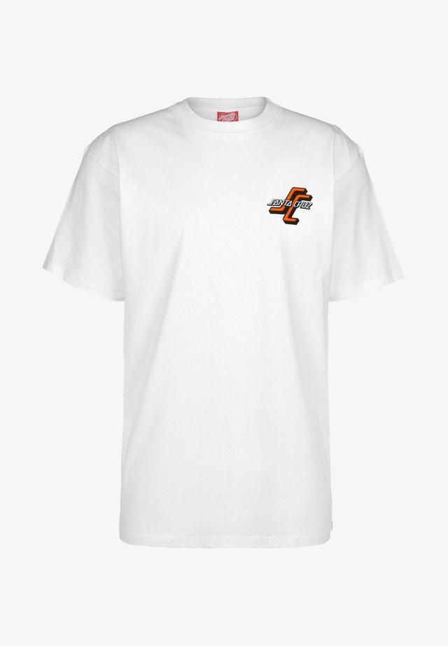 SALBA ARCHIVE - T-shirt con stampa - white