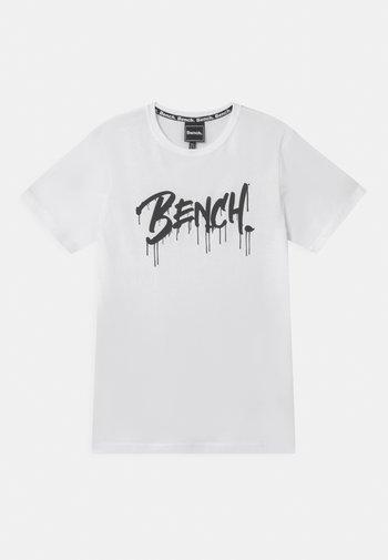 SANDSEND - Print T-shirt - white