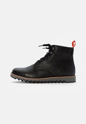 BERGBOOT RIPPLE - Lace-up ankle boots - regular black