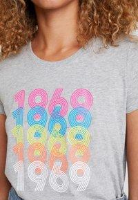 GAP - CREW - T-shirts print - grey heather - 3