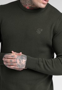 SIKSILK - CREW - Jumper - dark green - 4