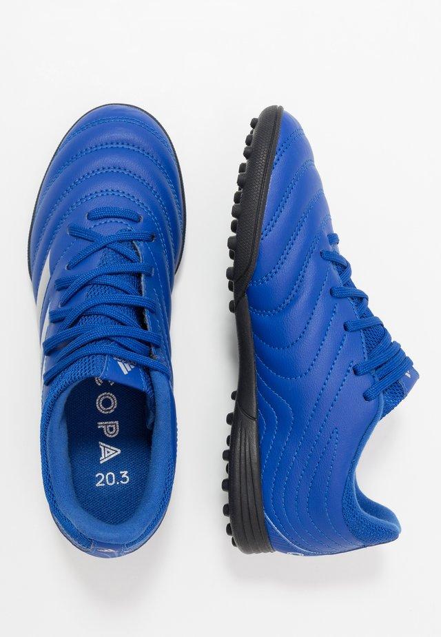 COPA 20.3 TF - Korki Turfy - royal blue/silver metallic/core black