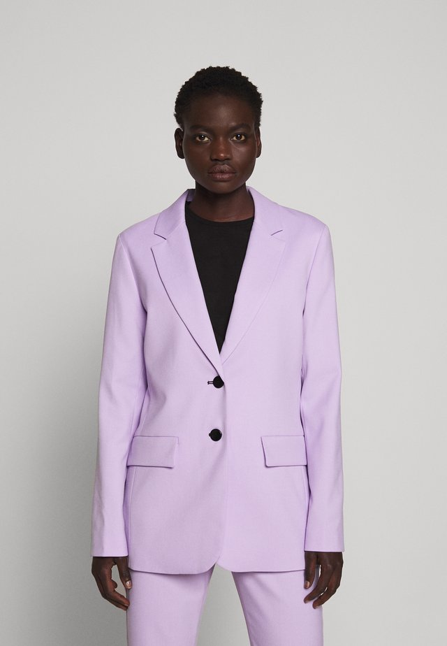 SUITING UNCONSTRUCTED - Short coat - lilac