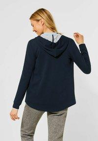 Cecil - MIT DOUBLEFACE - Zip-up hoodie - blau - 1