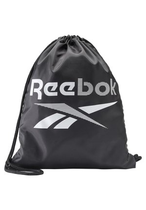 TRAINING ESSENTIALS GYM SACK - Drawstring sports bag - black