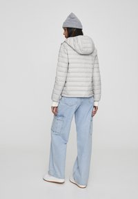 PULL&BEAR - Winter jacket - mottled light grey - 2