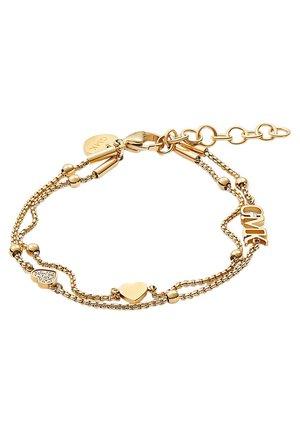 GMK COLLECTION DAMEN-ARMBAND VALENTINE COLLECTION EDELSTAHL 8 ZI - Bracelet - gold