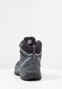 Salomon - X ULTRA 3 MID GTX - Hiking shoes - black/india ink/monument - 3