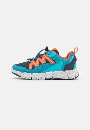FLEXYPER BOY - Sneakers laag - petrol/orange