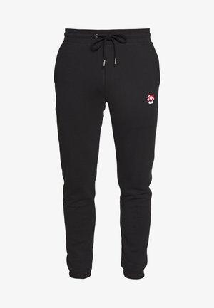 PANTS RED MUSHROOM - Pantaloni sportivi - black
