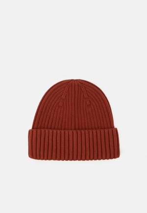 BEANIE UNISEX - Čepice - brown medium dusty