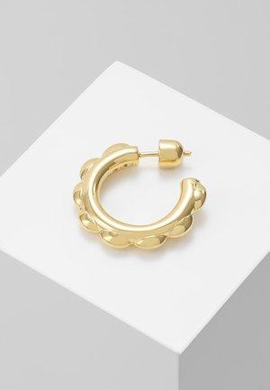 POPPY HOOP SINGLE - Earrings - gold-coloured