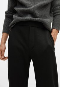 Mango - MARCIANO - Trousers - black - 3