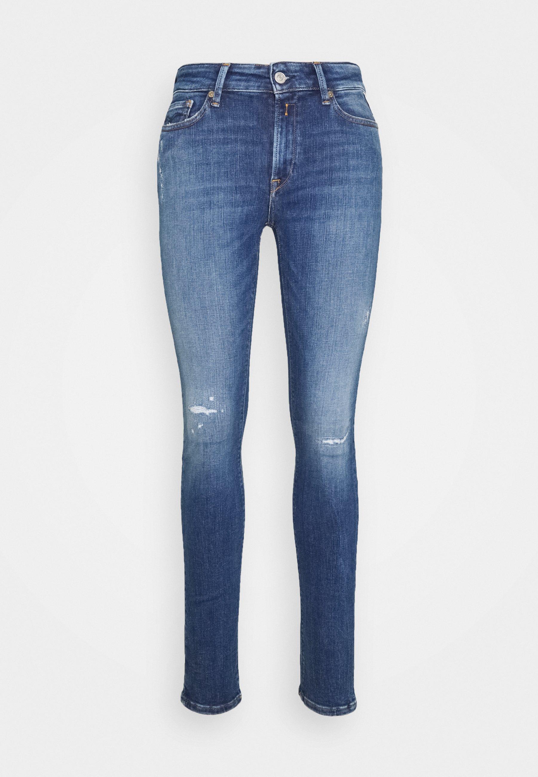 Donna LUZIEN PANTS BROKEN EDGE - Jeans Skinny Fit