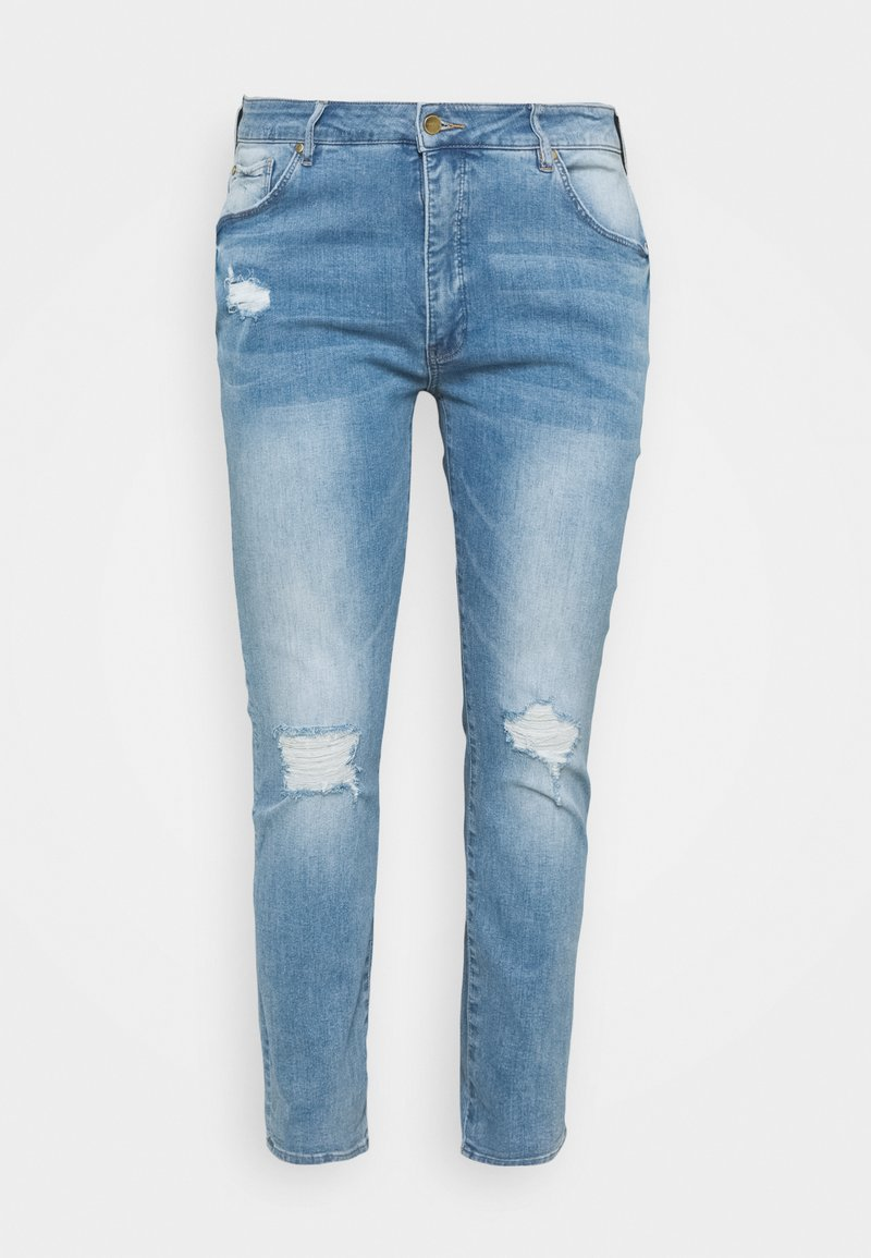 Forever New Curve - LINDSAY CURVE GIRLFRIEND JEAN - Relaxed fit jeans - ipanema blue