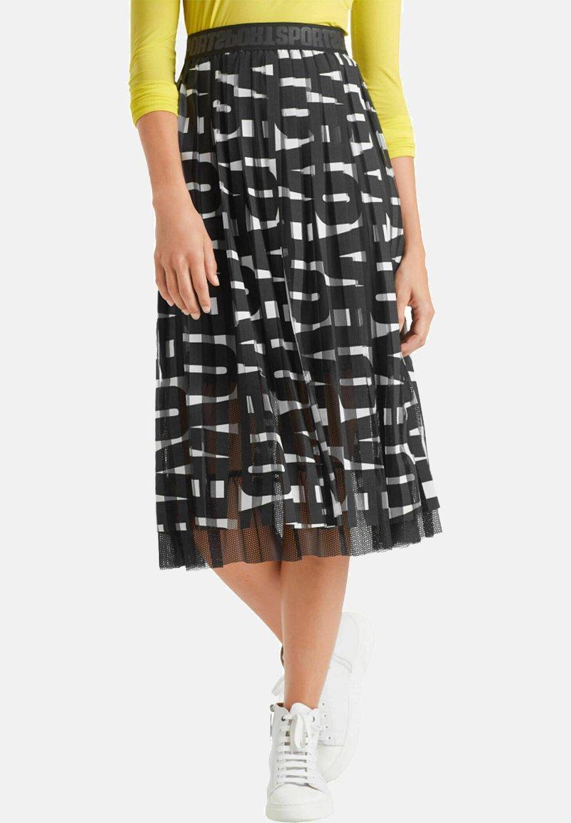 Marc Cain - A-line skirt - schwarz