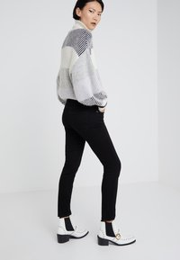 Current/Elliott - THE STILETTO - Jeans Skinny Fit -  clean stretch black - 2