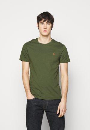 SHORT SLEEVE - Basic T-shirt - supply olive