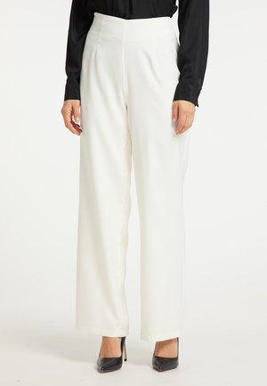 Spodnie materiałowe - weiß
