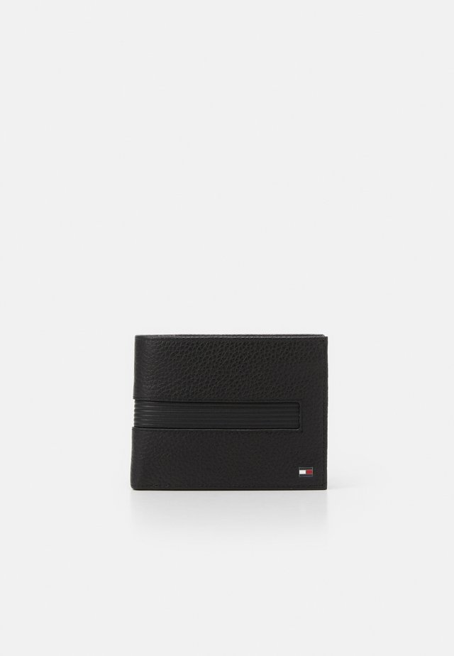 DOWNTOWN FLAP AND COIN - Portefeuille - black