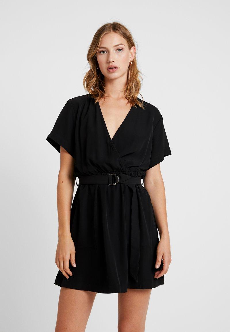 Weekday - JESS DRESS - Denní šaty - black