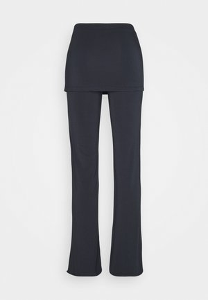 LONG PANTS SKIRT - Tracksuit bottoms - midnight blue