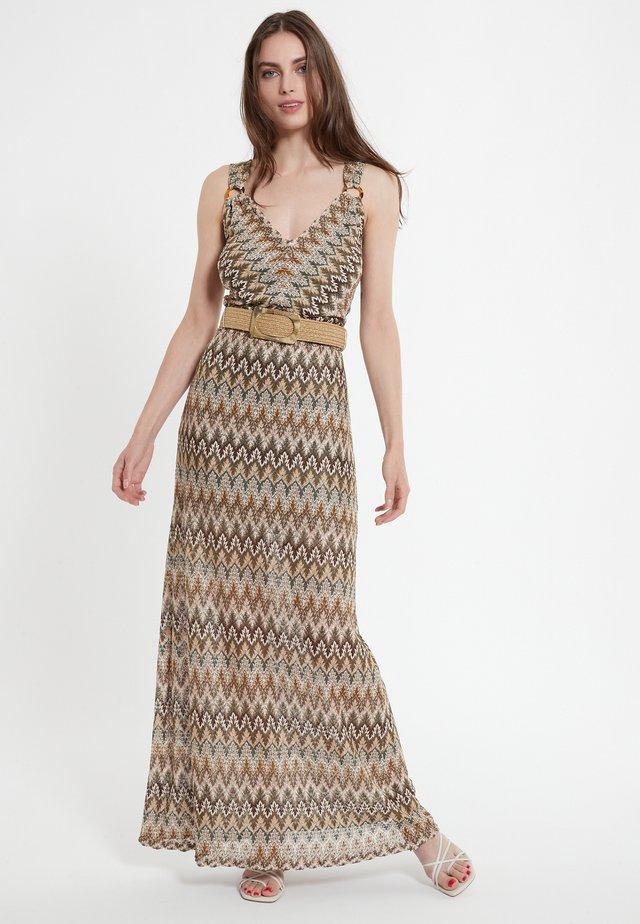 CIBLY - Robe longue - beige