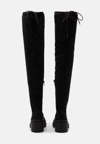 Miss Selfridge - Kozačky nad kolena - black - 3