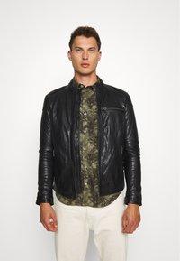 Serge Pariente - CHIC - Leather jacket - black - 5