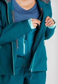 PYUA - BLISTER - Snowboard jacket - petrol blue - 6