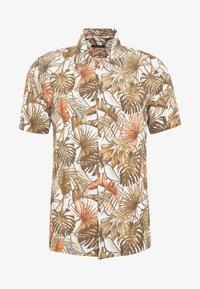 Gianni Lupo - HAWAIIAN - Shirt - MUD - 4