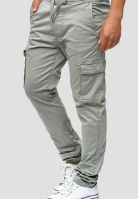 INDICODE JEANS - BROADWICK - Cargo trousers - gray - 3