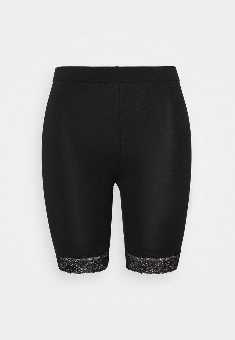 Vero Moda Curve - VMLENNON CYCLE - Shorts - black