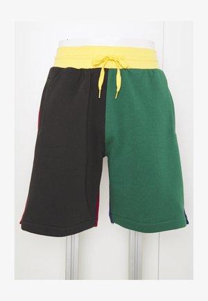 COLORBLOCKED - Sports shorts - dark green