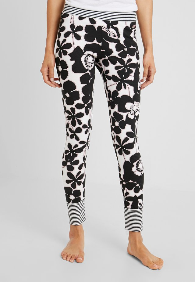 LEGGINGS - Bas de pyjama - black