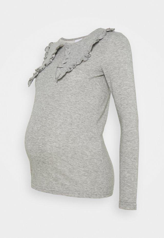 MLFEY - Maglietta a manica lunga - light grey melange