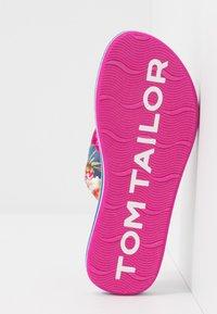 TOM TAILOR - Sandály s odděleným palcem - blue - 5