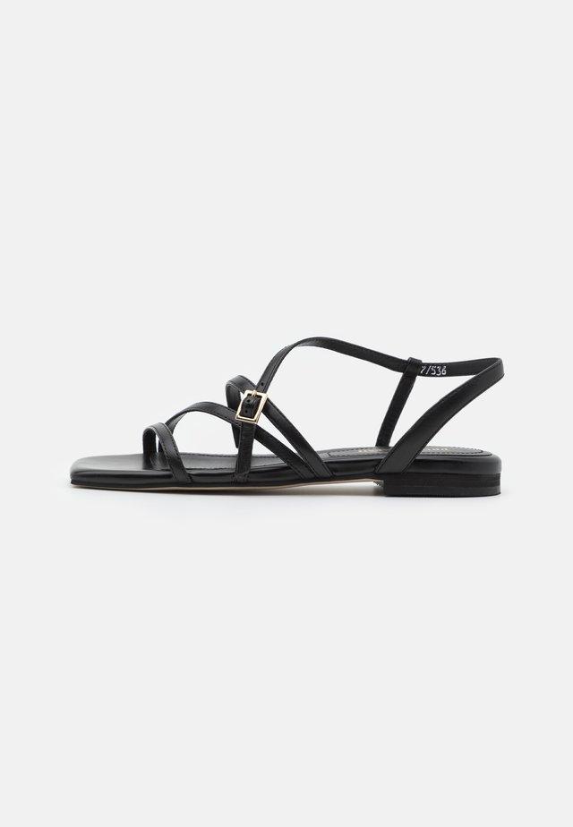 Sandały - savana nero