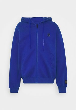 LEWIS HAMILTON UNISEX PCR HOODED ZIP THRU - Zip-up hoodie - sapphire blue