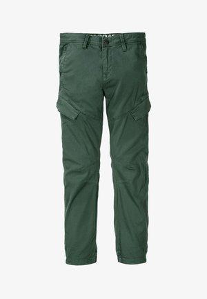 Cargo trousers - dark pine