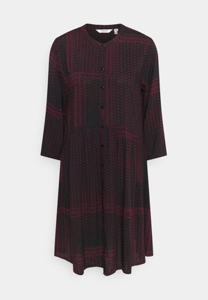 BYILLA DRESS  - Robe d'été - dark red